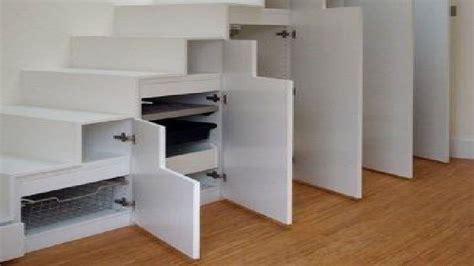 rangement sous bureau rangement sous escalier la solution gain de place