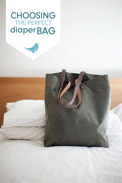 Choosing The Perfect Diaper Bag + Why Mama Bird Really