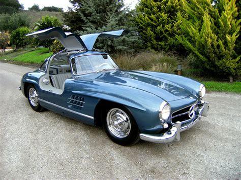 Mercedes Gullwing sold 1955 mercedes 300 sl gullwing grundfor