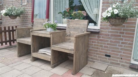 houten loveseat loveseat voor in de tuin joab houten meubels