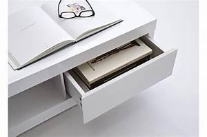 Table Basse Carrée Blanc Laqué : table basse design carr e blanc laqu cbc meubles ~ Teatrodelosmanantiales.com Idées de Décoration