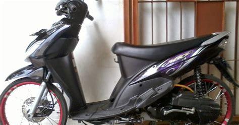 Modifikasi Mio J Hitam by Modifikasi Mio Sporty Hitam Kumpulan Modifikasi Motor