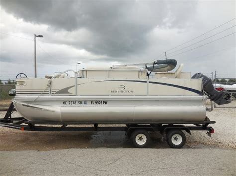 Used Pontoon Boat Trailers In Florida by Used Hoosier Pontoon Trailer Boats For Sale