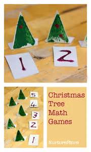 christmas tree math games for preschool nurturestore