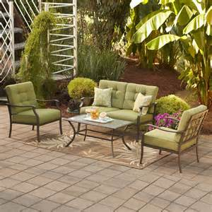 garden treasures eastmoreland green 4 piece outdoor