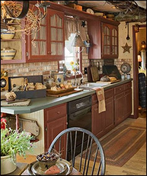 Primitive Kitchen Decorating Ideas by Decorating Theme Bedrooms Maries Manor Primitive