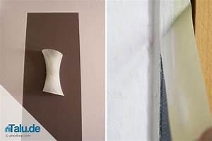 Welche Wand Farbig Streichen : rauhfaser abkleben und streichen 10 schritte anleitung ~ Orissabook.com Haus und Dekorationen