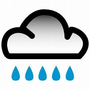 RAIN VECTOR WEATHER SYMBOL - Download at Vectorportal