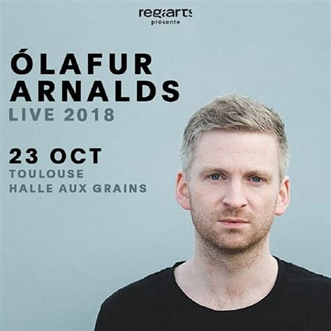 Concert D'olafur Arnalds Ce Soir à La Halle Aux Grains