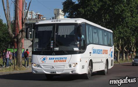 San Vicente Express   202 - Megabus.ar