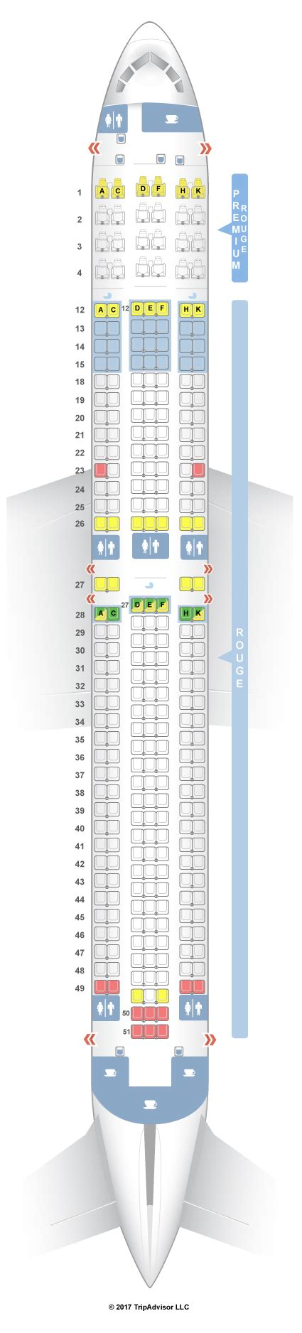 plan siege boeing 777 300er seatguru seat map air canada boeing 767 300er 763