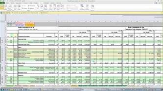 Excel Templates For Construction Estimating Estimate Spreadsheet Template Spreadsheet Templates For Busines Excel Sheets Cost Estimation