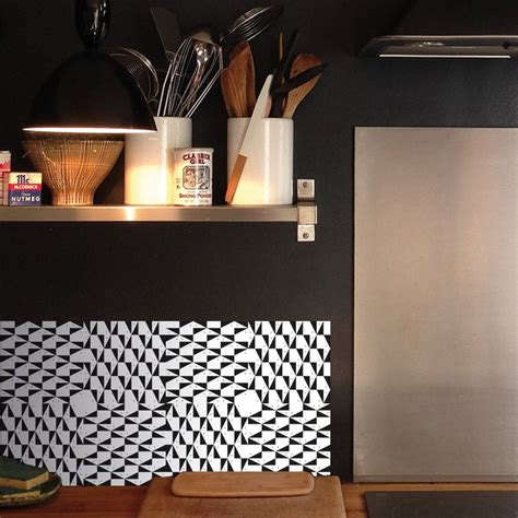 stickers carrelage mural cuisine domino n 3 domino by mlle ing credence cuisine