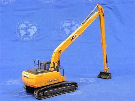 buffalo road imports case cx  long reach excavator construction track excavators diecast