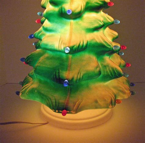 vintage celluloid light up tree plastic inserts