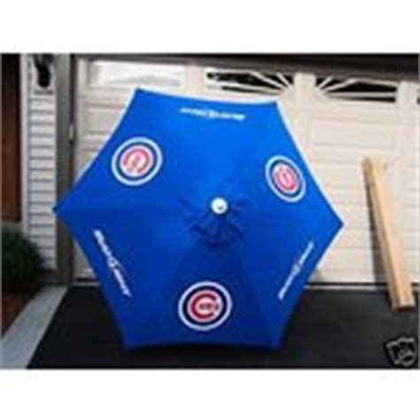 bud light cubs patio table umbrella chicago cubs 07