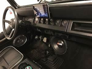 My Jeep Wrangler  U2014 Custom Dashboard And Sound System