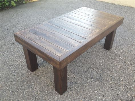 wooden coffee table instructions diy  plans     pergola designs