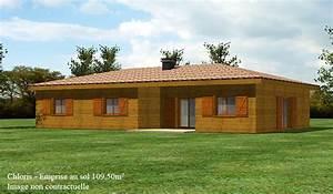 prix maison bois en kit affordable maison bois chambres With kit extension maison pas cher