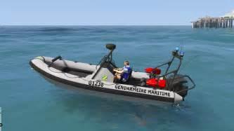 Zodiac Boat Gta 5 by Zodiac Gendarmerie Gta5 Mods