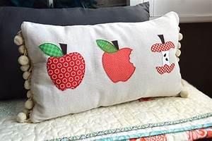 Apple, Appliqu, U00e9, Pillow, Tutorial