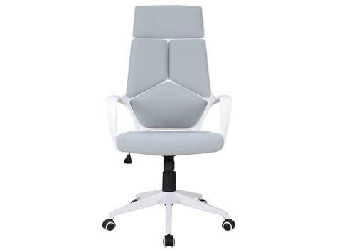 conforama fauteuil de bureau fauteuil de bureau seattle coloris gris blanc vente de