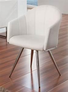 Chaise Salon Design : chaises de salon fleury ~ Teatrodelosmanantiales.com Idées de Décoration