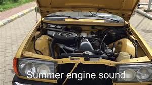 Mercedes Benz W123 200d Engine Sound