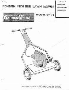 Montgomery Ward Lawn Mower Zyj