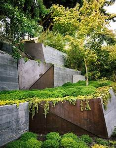 plantes et jardins With good modele de jardin moderne 3 comment avoir un joli jardin en pente jolies idees en