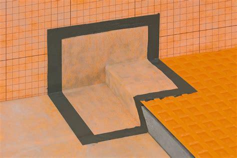 schluter kerdi schluter 174 kerdi kers waterproofing shower system schluter com