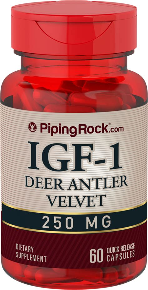 IGF-1 Deer Antlers Extract | Benefits | Reviews | Piping ...