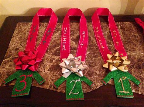 christmas party award ideas diy sweater awards time tacky office