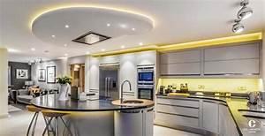 eclairage led pour cuisine eclairages encastrs bazz With carrelage adhesif salle de bain avec plafonnier led cercle