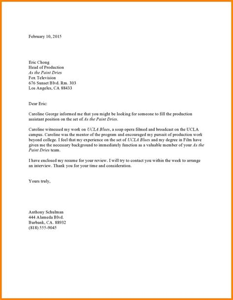 referral letter letters free sle letters