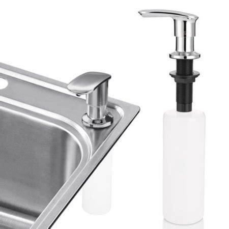 kitchen sink foaming soap dispenser cozzine 7001 stainless steel sink soap dispenser bathroom