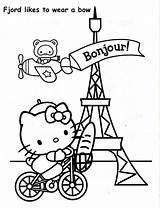 Paris Coloring Pages Tower Printable Eiffel France Drawing Getcolorings Getdrawings Attachments Starmen Rapunzel Easy Colorings sketch template