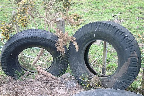 Council Help Sought With Old Tyres