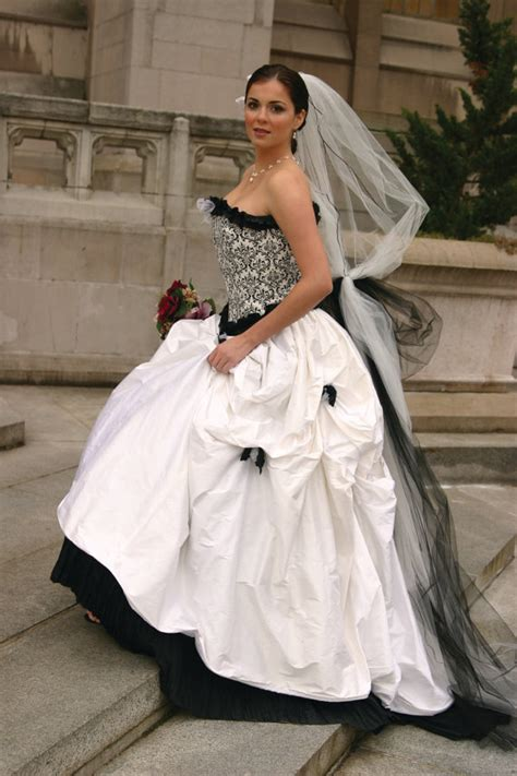 amazing black and white corset wedding dresses sang maestro