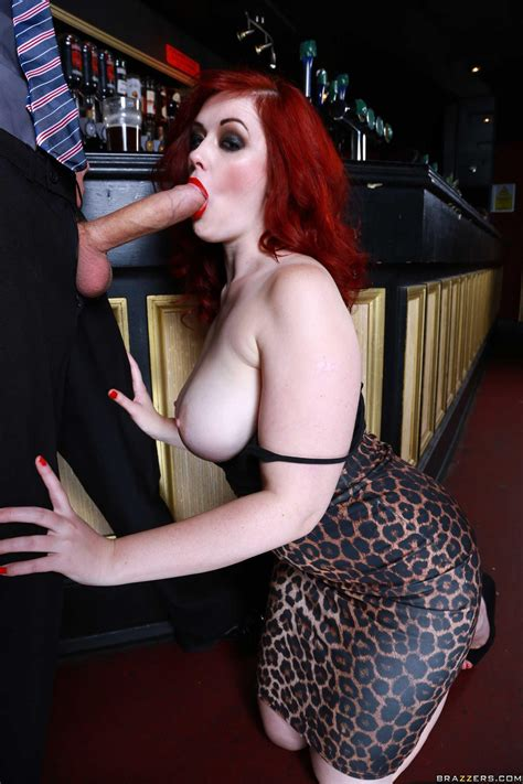 Busty Redhead Jaye Rose Gets Her Wet Pussy Fucked Hard In