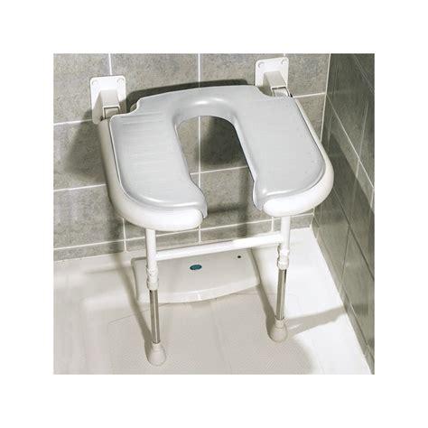 si 232 ge rabattable matelass 233 en forme de u pour la salle de bain