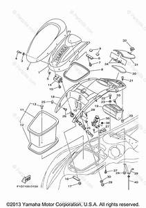 Yamaha Waverunner 2005 Oem Parts Diagram For Engine Hatch