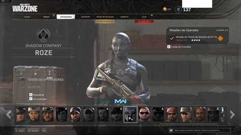 Call Of Duty Conta Cod Warzone Multiplayer Skin Rose