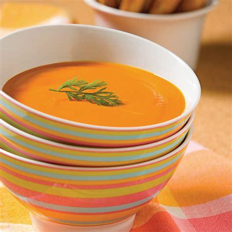 cuisine carottes velouté de carottes recettes cuisine et nutrition