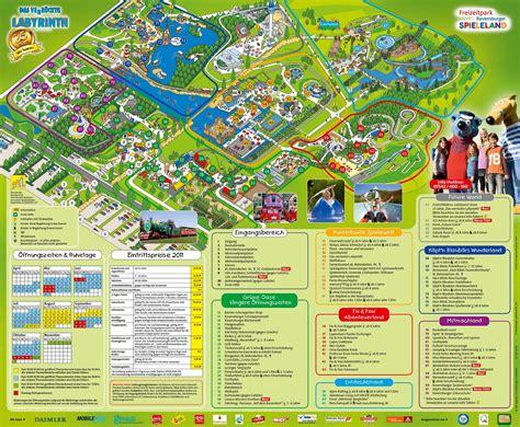 parkmaps parkplan freizeitpark ravensburger spieleland