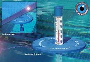 Thermometre De Piscine : thermom tre duo sp cial volet flottant ~ Carolinahurricanesstore.com Idées de Décoration