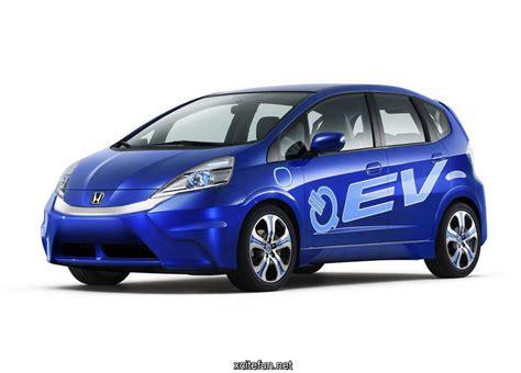 Honda Fit Ev Concept Smart Blue Car Wallpapers Xcitefunnet