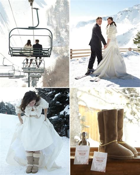 Oncedailychic Chair Lift Wedding Awesomeness