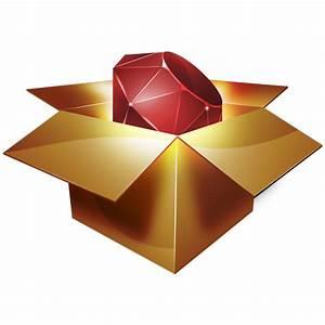 Ruby Gems Icon - Ruby Programming Icons - SoftIcons.com