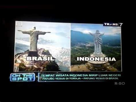 spot  tempat wisata indonesia  mirip luar